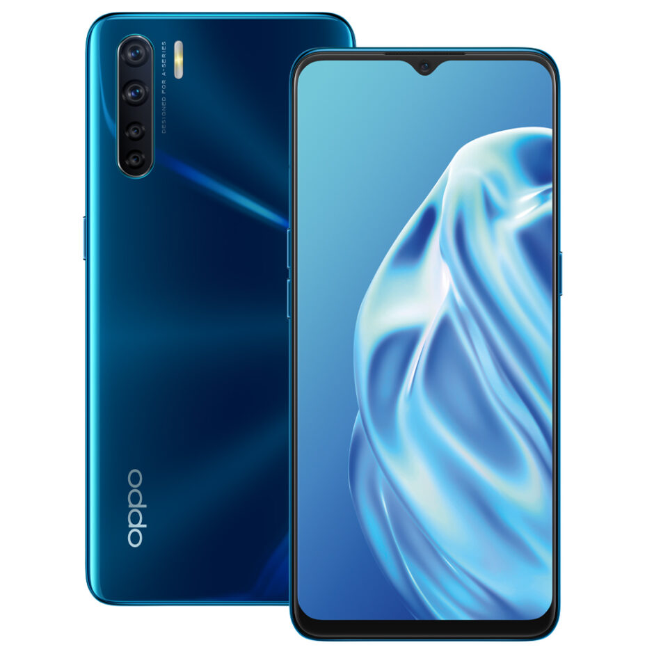 OPPO-A91-Blue