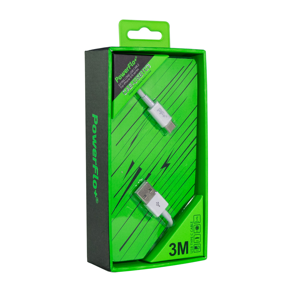 Powerflo-USB-Type-C-3m-Cable