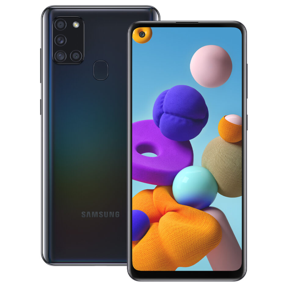 Samsung-A21s-Black