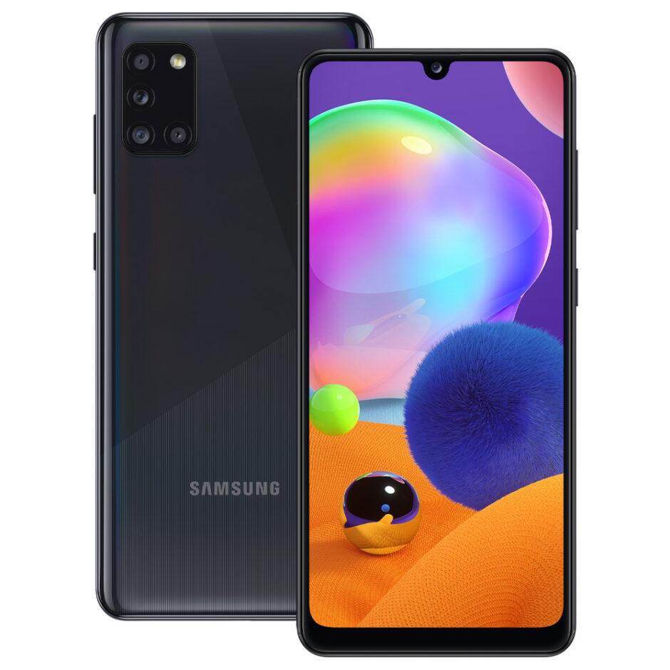 Samsung-A31-Black